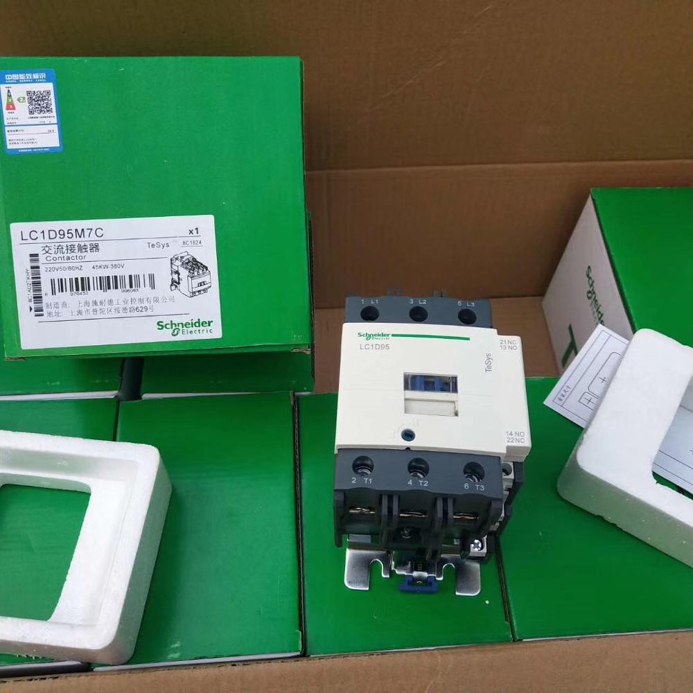 LC1D95 AC Contactor LC1D95M7C F7C U7C E7C Q7C B7C P7C 24V 48V 110V 220V 230V 240V 380V 415V