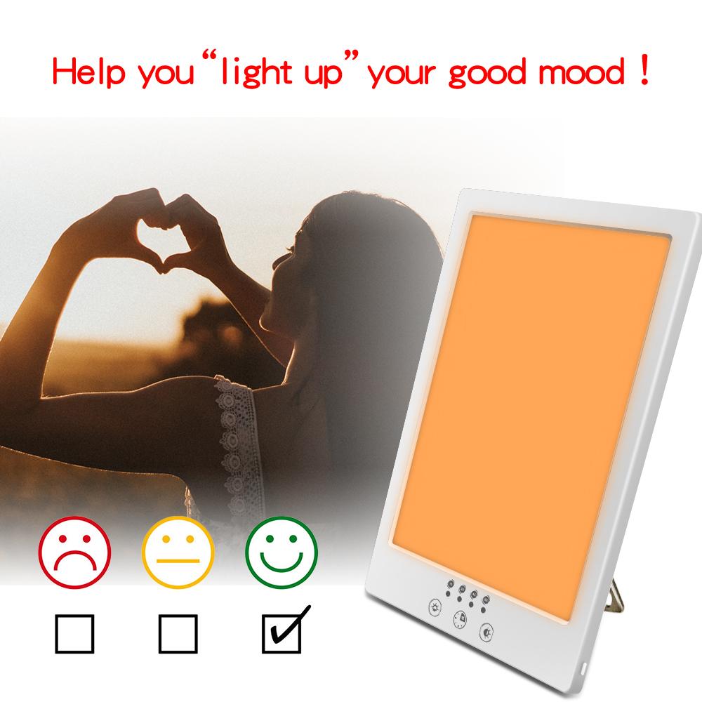 Amazon, лечение депрессии зимой, световая терапия, медицинское устройство, 10000lux, лампа для лечения грустного света