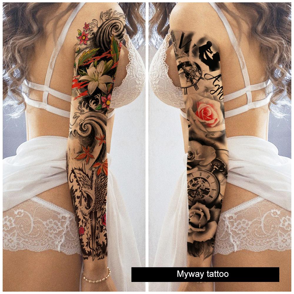 Myway custom Fake Tattoo,temporary tattoo sticker,tatoo temporary tattoo paper
