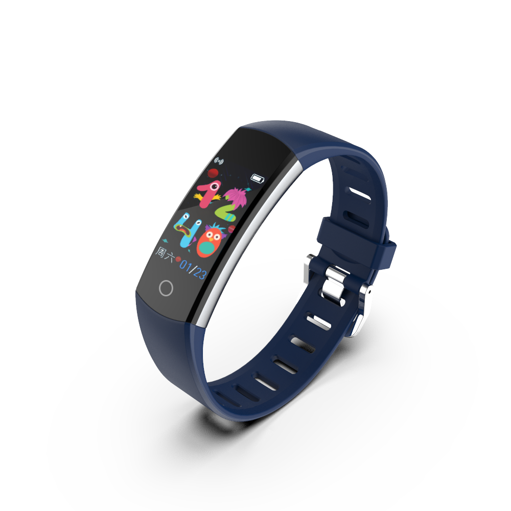 Professional Manufacturing PC+ABS 80mAh C07Q(student) Smart wristband