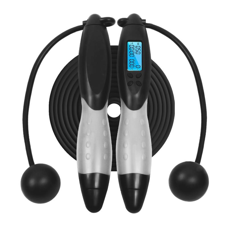 Jumping Rope Electronic Skipping Ropes Digital Calorie Counter  Fitness Workout