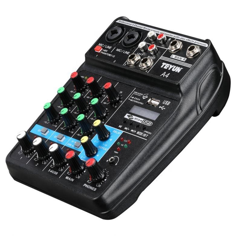 Оптовая продажа по заводской цене, канальный микшер, аудио
