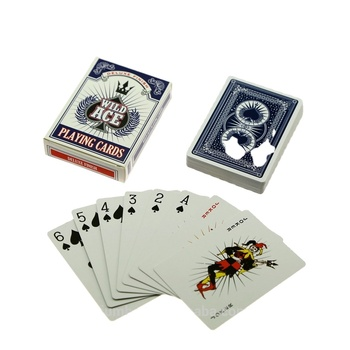 Ad playing card ad poker original pokemon cards for sale adjustable paper playing card
