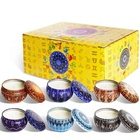 12pcs Hot Selling Soy Wax Scented Candles In Tin Box Gift Set