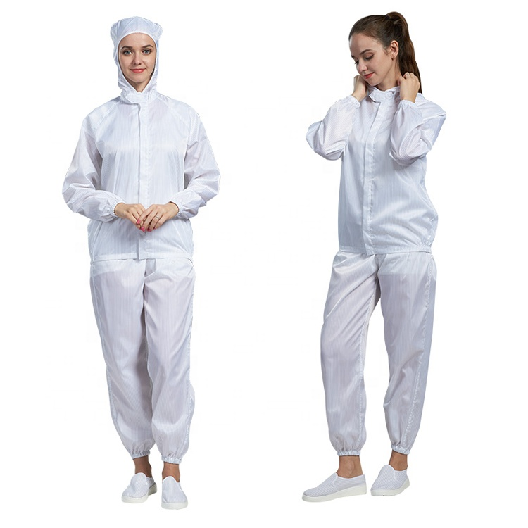 Antistatic coverall workerwear cleanroom suit - KingCare | KingCare.net