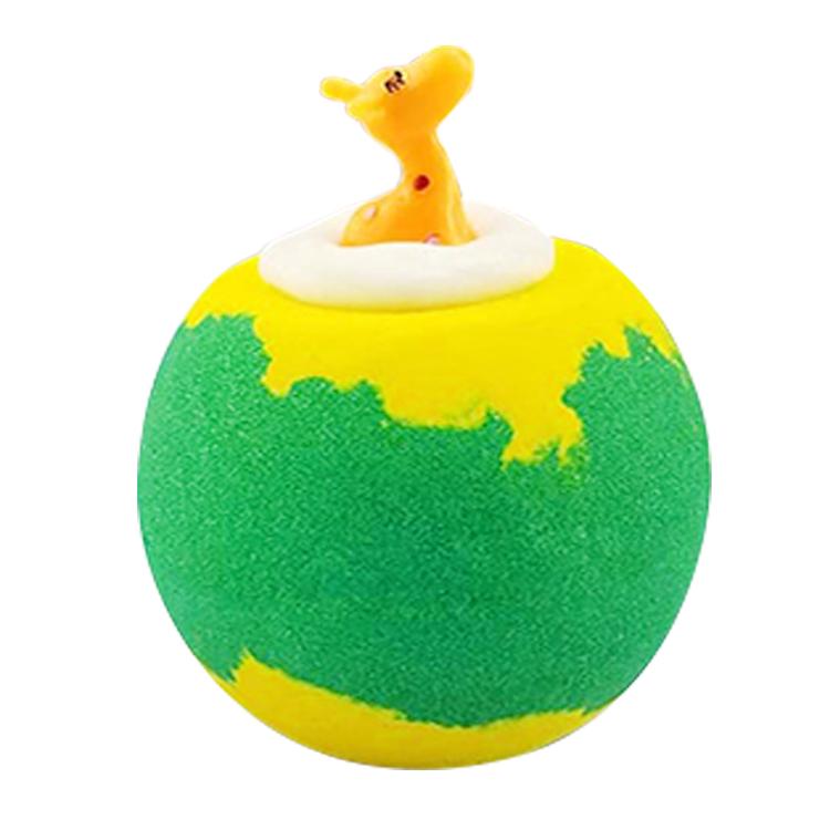 A10053 Diy частная торговая марка, красочный роскошный увлажняющий Радужный банный Бомбочка, подарочный набор с игрушками