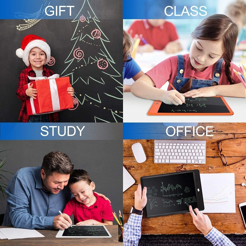 2021 hot selling 8.5 inch kids writing erasable digital notice electronic smart board
