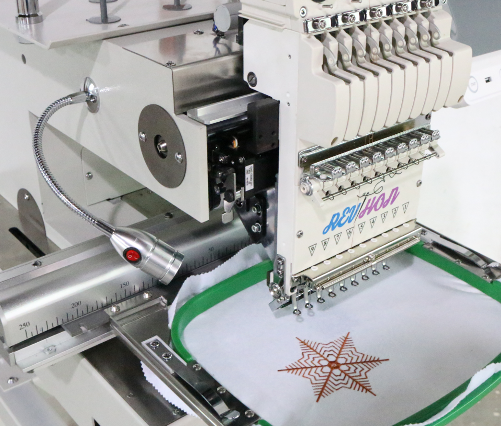 New Year Sale!!! Same As Ricoma High quality single head for mini flat/t-shirt sewing computer embroidery machine