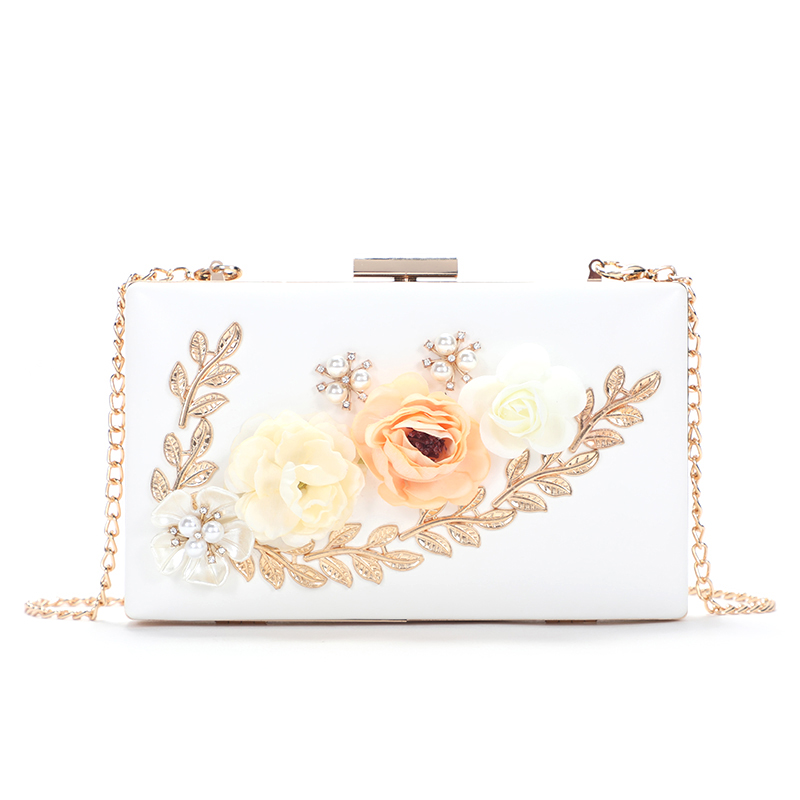 latest design fashion evening clutch bags Evening Bag embroidery handbags wholesale clear handbags factory price in china MOQ2