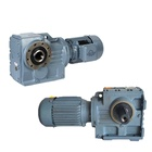 Gearbox 90 Degree Gearbox GS Series 90 Degree Shaft Worm Gearbox Reducer With Electric Motor