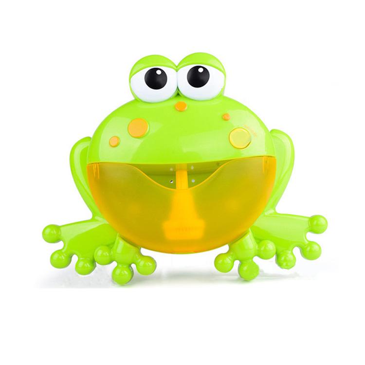 Симпатичные детские игрушки-крабы для ванны, пузырьки-лягушки, машина для пузырьков, музыка, детская игрушка для ванны, мыла, автоматическая пузырьковая машина, детская игрушка для ванной комнаты