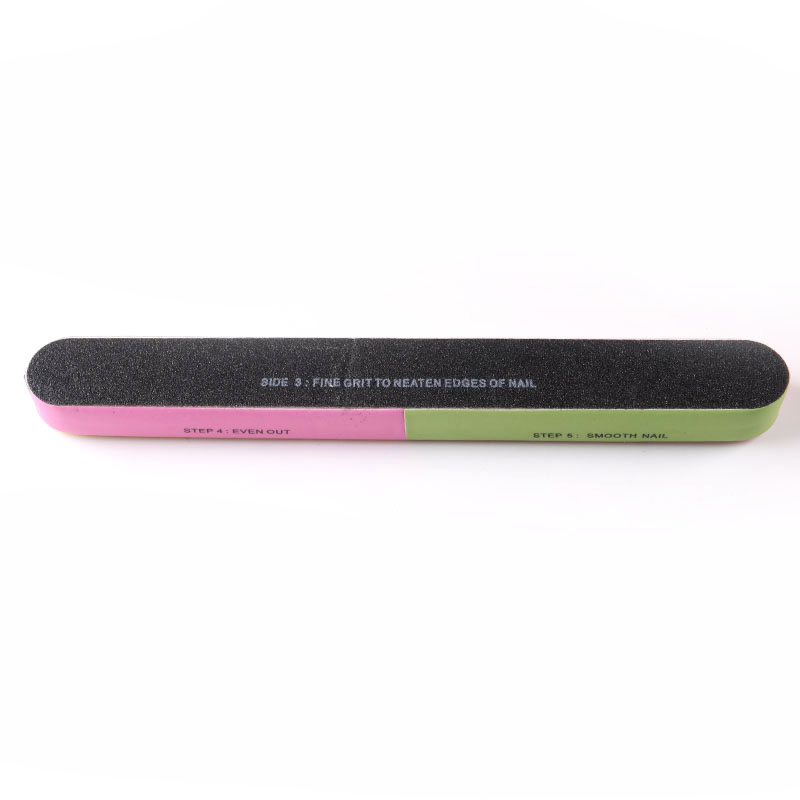 TSZS Factory Price Multicolor 7 Way Nail Buffer Files Professional Manicure Tools For Nail Salon Supplier