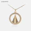 Gold plated necklace-7