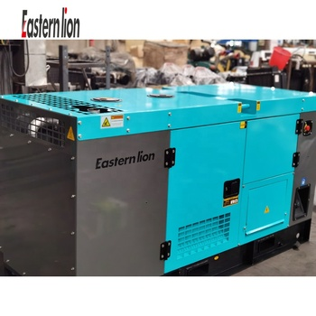 Lovol 34KW 43 KVA 40 KW 50 KVA New Design 3 phase 380V water cooled silent type genset diesel generator factory