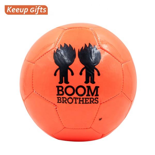 Профессиональный Футбольный Мяч из ПВХ по низкой цене, рекламный футбольный мяч