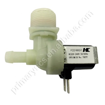 Washing machine solenoid valve washing machine water inlet valve