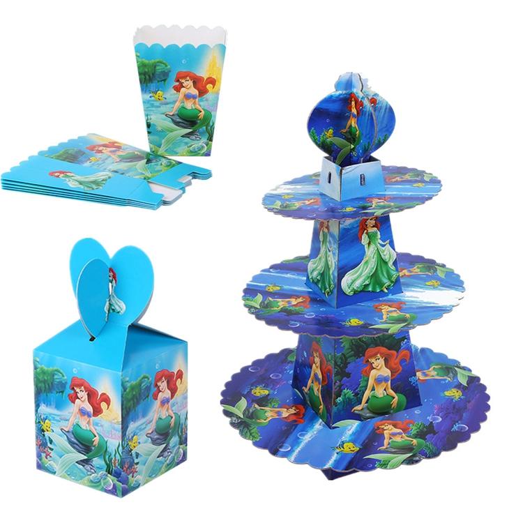 Birthday Party Supplies Cartoon Decor Baby Shower Kids Birthday Princess Party