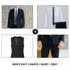 Men's four-piece suit