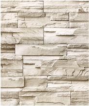 LUCKYYJ искусственный сложенный камень пилинг и палочка настенная бумага серо-коричневый кирпич самоклеящаяся контактная бумага для стен спа...(Китай)