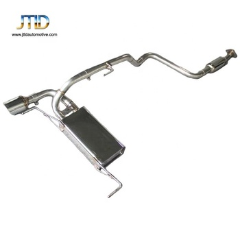 performance titanium exhaust system for Ford Focus 1.5T 3.5 2016year catback exhaust