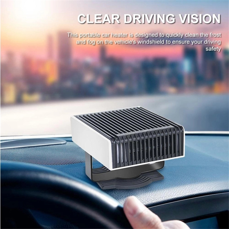 Portable Small Winter Heaters Fan Universal Heating Defroster Demister Car Heater