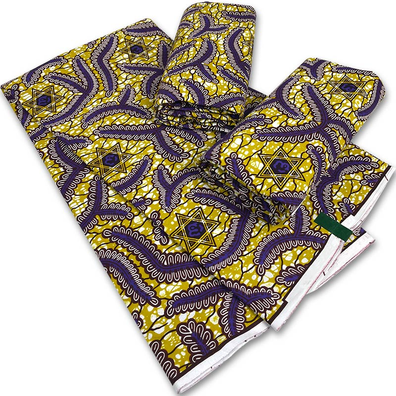 Factory original holland wax fabrics african wax print 100% cotton real wax fabrics
