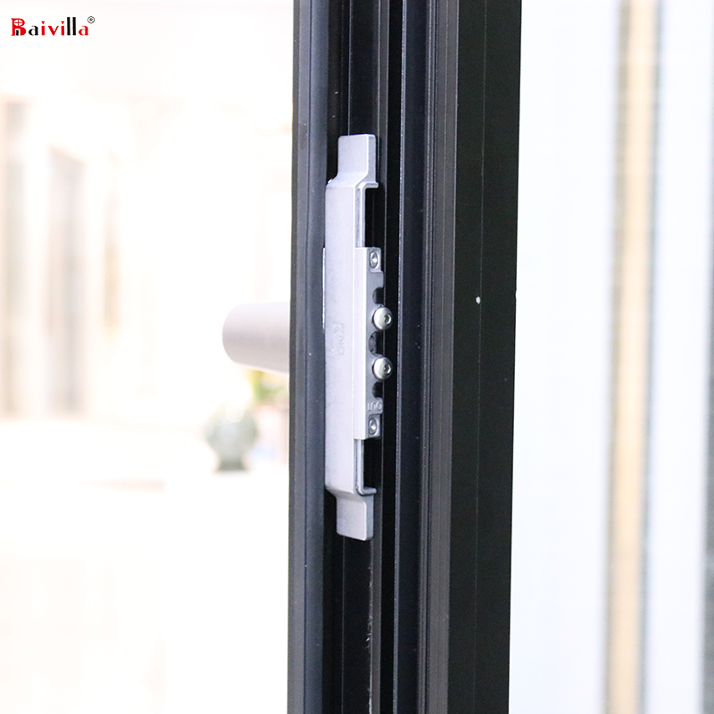 Swing With Fix Windows Big Size Insulation Glass,Hot Sale United States Aluminium Windows And Doors From Foshan