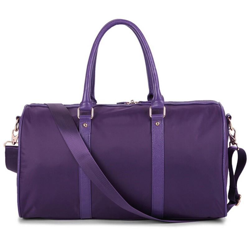 Travel Duffle Bag Large Capacity Outdoor Waterproof Nylon Unisex Sport Gym Tote Shoulder Travel Fitness Duffle Bag