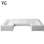 Import furniture from China big sectional sofa, house living room furniture sleeping sofa bed corner sofa