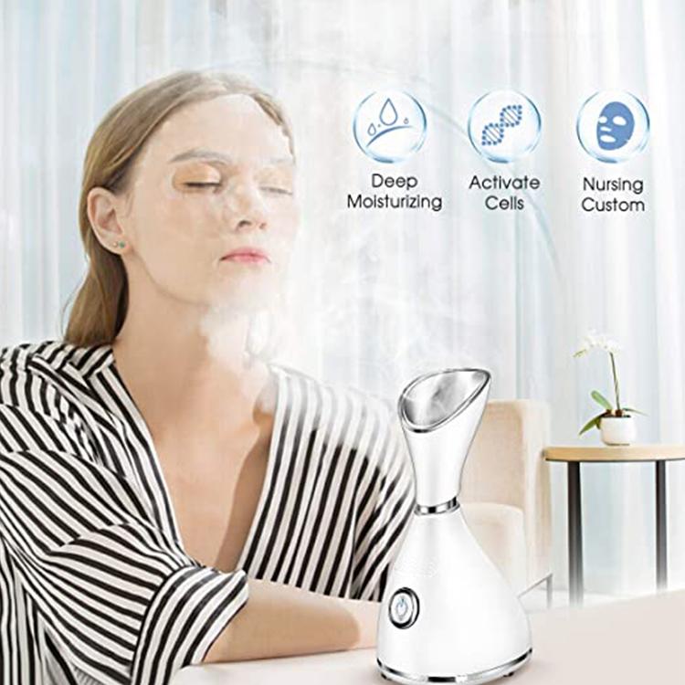 Нано-ионный отпариватель для лица для дома, увлажнитель с теплым туманом для лица, отпариватель для лица