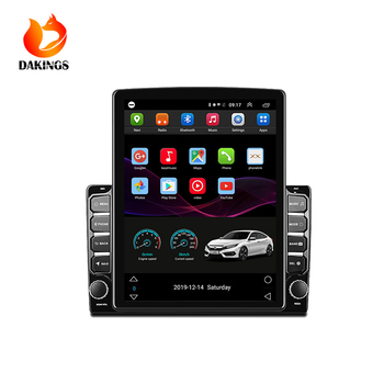 pioneer alpine Tesla style 2+32G car audio stereo Player MP5 with bluetooth usb