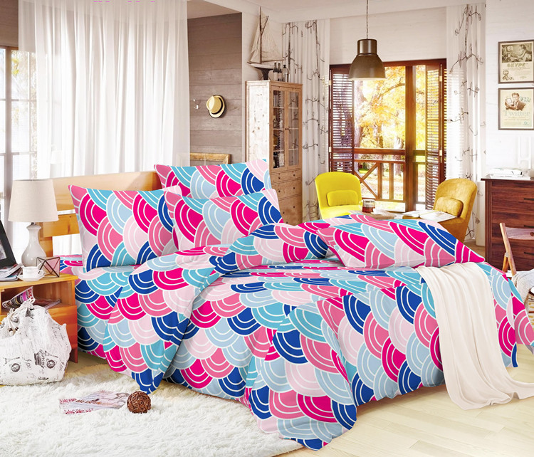 100% polyester microfiber disperse printing fabrics for bed sheet
