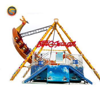 Used amusement park rides galleon ride pirate ship outdoor funfair games rides pirate ship sea dragon