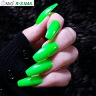 uv led gel nail polish 3 step gel product summer in stock neon colors, low MOQ nail gel polish factory in China since 2004