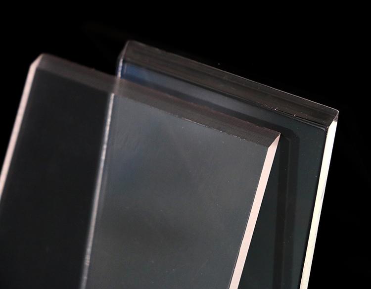 BSCI Завод непосредственно изготовленный на заказ прочный высококачественный прозрачный акриловый скребок для льда