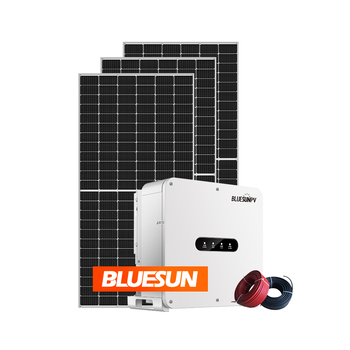 Bluesun 10KW Solar Panel Kit Home On Grid 10000W 20000W 30000W Solar Energy Solar Panel System
