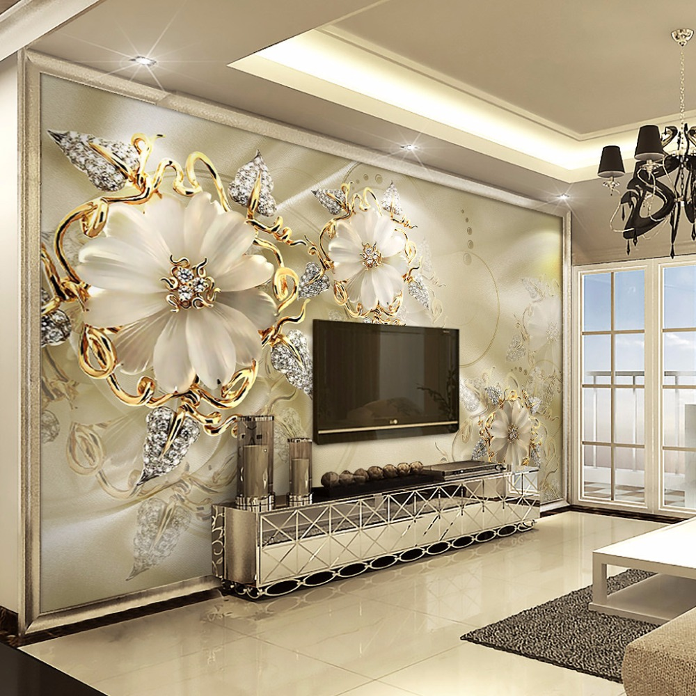 3d European Style Marble Diamond Jewelry Flower Wallpaper Mural High Quality Non Woven Large Wall Painting Living Room Wall Art Buy Glitter Wall Paper Vintage Wallpaper Bathroom Wallpaper Product On Alibaba Com