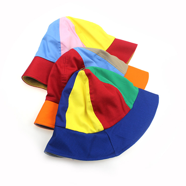 2020 New arrival kids propeller hat cotton colorful sun block hat for kids removable propeller outdoor hat for children