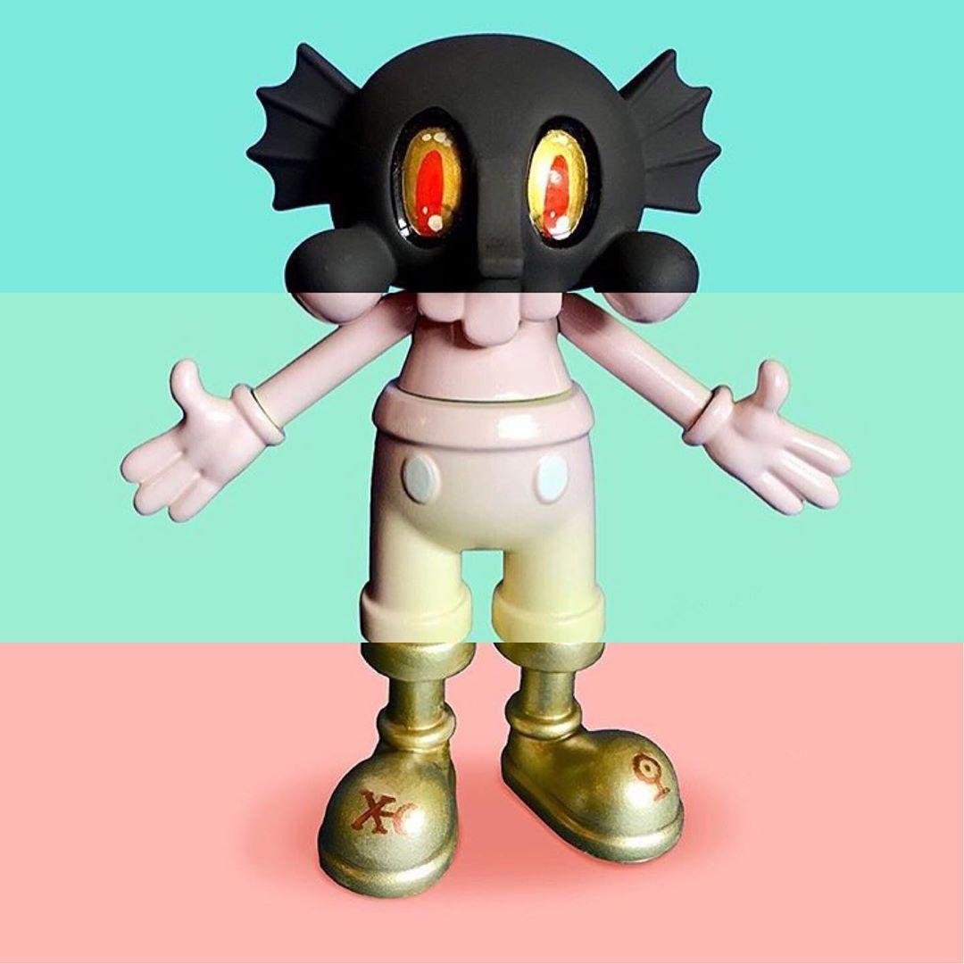 Custom vinyl figure oem design vinyl character toys manufacturer