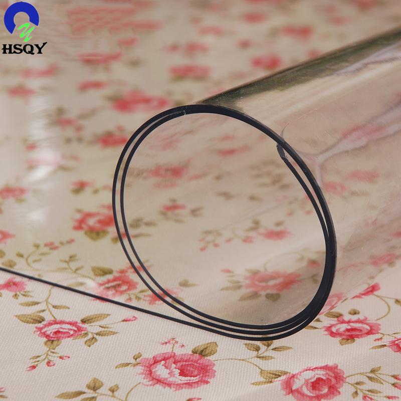 Практичное использование, супер прозрачная ПВХ защита кромки стола