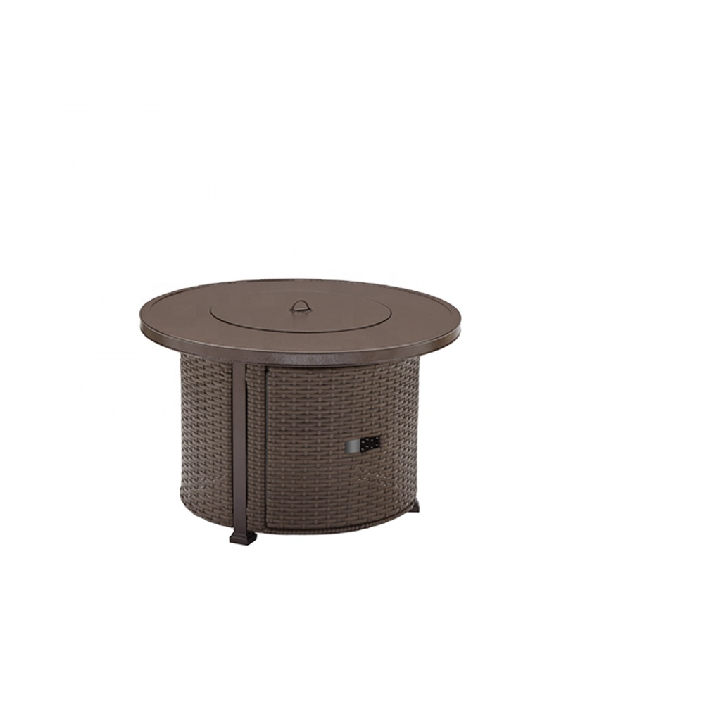 High Quality Aluminum Frame Indoor Gas Fire Pit Tale Garden Wicker Fire Pit Gas Buy Indoor Fire Pit Fire Pit Table Fire Pit Gas Product On Alibaba Com