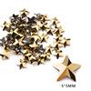 11# 5mm Pentagram Gold