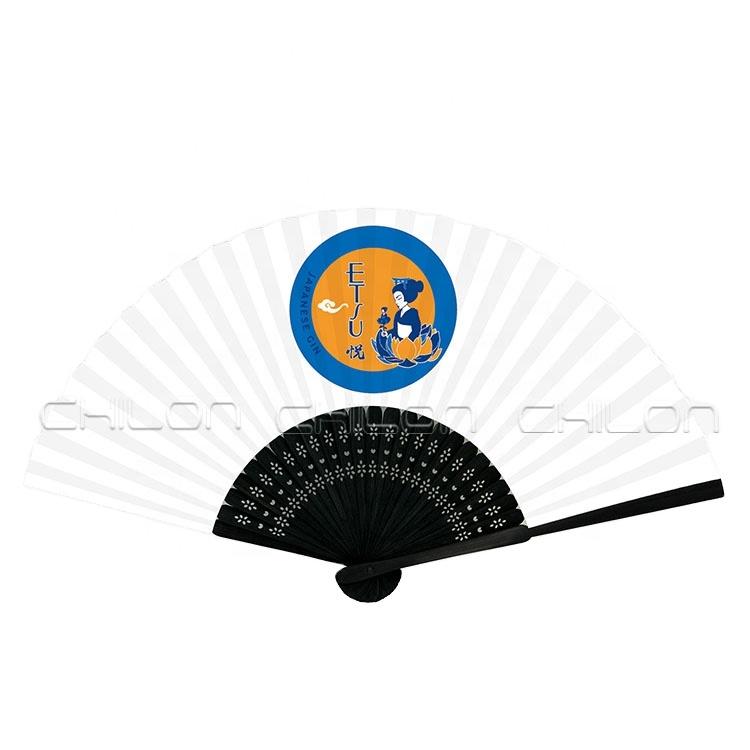 Индивидуальный дизайн, боковые тканевые ручные складные вентиляторы