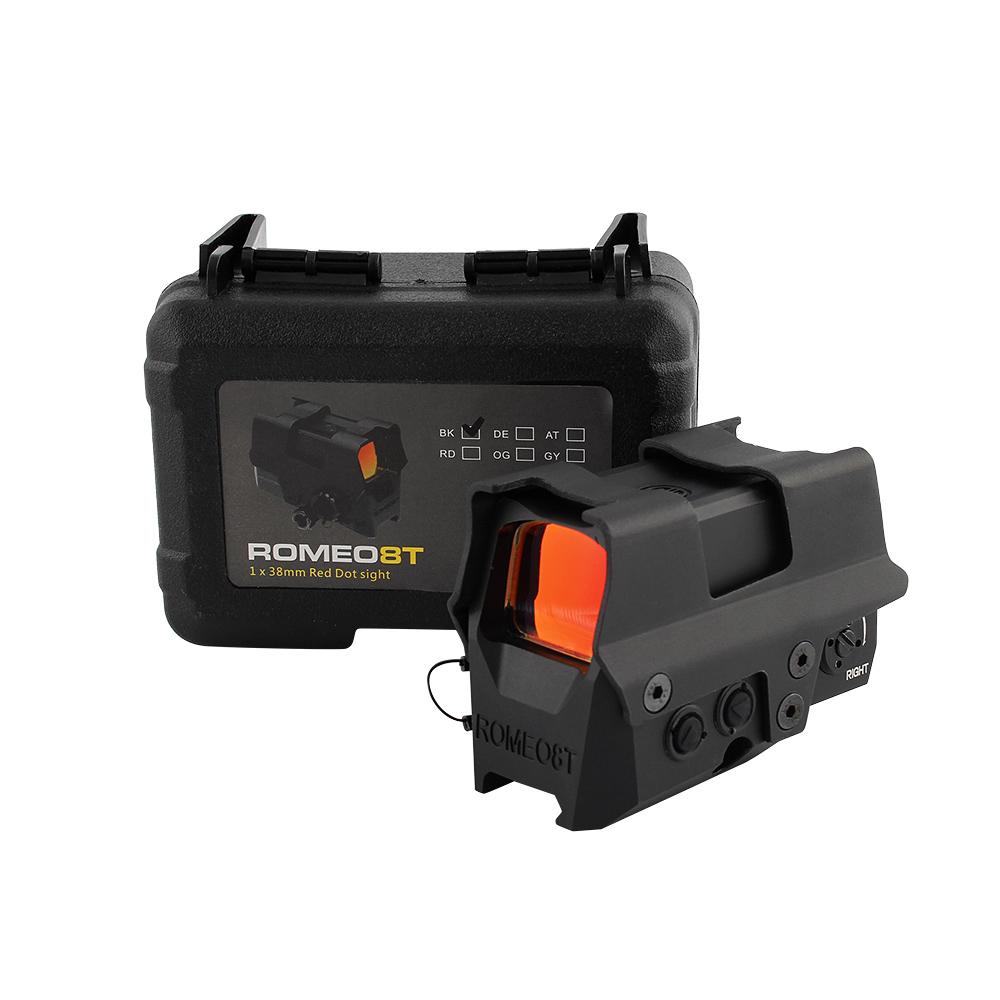 Sig Sauer Olografica Scope Balistico Cerchio Dot 1x38 Reflex 8T Rosso di Vista del Puntino Per Glock Airsoft Visori 20 millimetri di montaggio