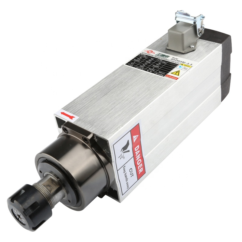 changsheng or cs 3.5kw air cooling spindle cheap price cnc kit wood spindle motor for cnc router