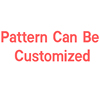 Pattern can be customized