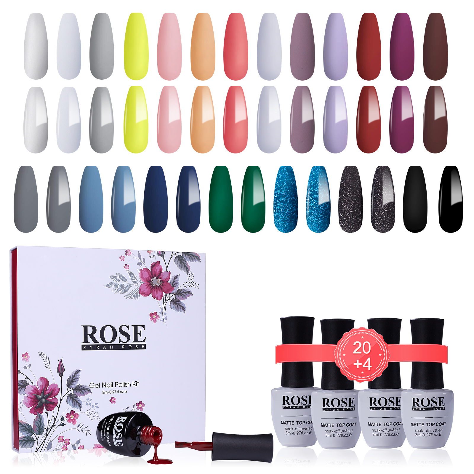 Wholesale China Nail Gel Supplier Private Label Colors Soak Off Led poly Nails Polish Colour Uv Gel Nail Polish kit professional