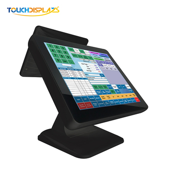 15 inch 10 points touch pos terminal 128g rom pos machine 15 inch a point of sale system