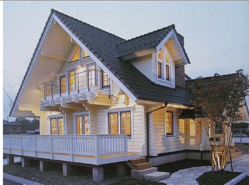 2020 new design Luxury Prefabricated Wooden 2 floors Modular House China cheap price high quality easy assemble wooden villa