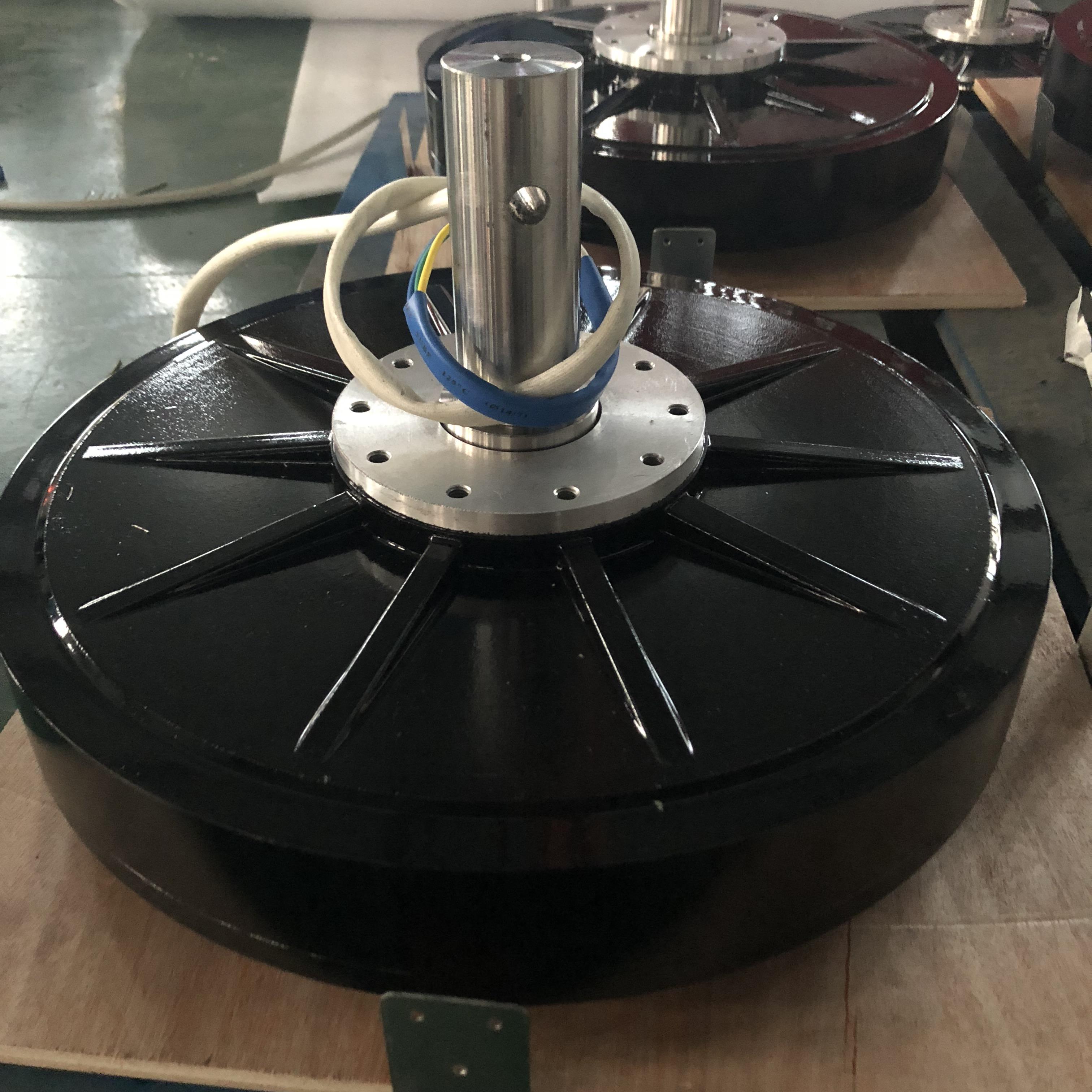 Hiest 0.3kw generator axial flux permanent magnet generator 0.3KW home using wind turbine generator